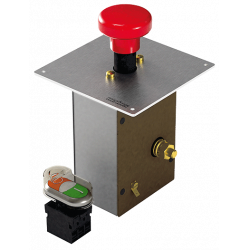 Emergency stop switch 12V (with<br/>feature of remotely controlled batt<br/>ery main switch)